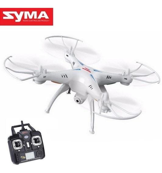 Drone Syma X5c Com Camera Hd, 6 Axis, 2,4ghz +nf