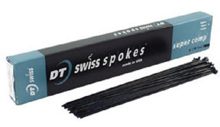 Radios Dt Swiss Super Comp Negros 268mm