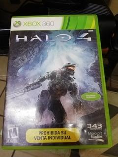 Videojuego Halo 4 Para Xbox360
