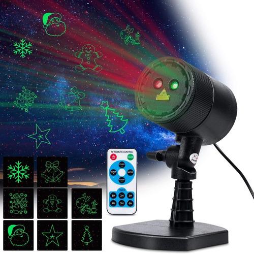 Luces De Navidad, Laser Tipo Proyector