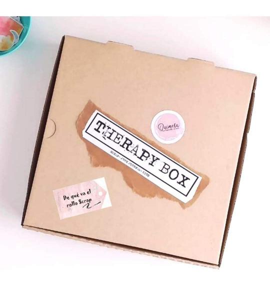 Caja Scrapera Scrapbooking Therapy Box