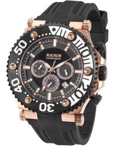 Relógio Cronógrafo Masculino Magnum Ma32121p