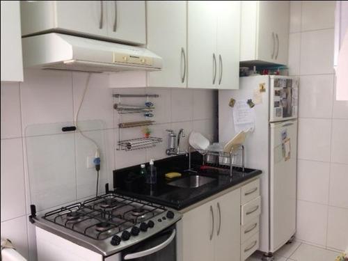 Apartamento À Venda, 63 M² Por R$ 450.000,00 - Vila Santo Estéfano - São Paulo/sp - Ap0922