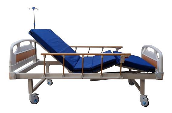 Cama Hospitalaria De Lujo Con Colchón Gratis