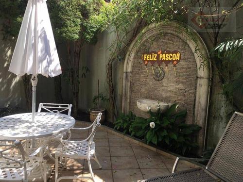 Sobrado Com 3 Dormitórios À Venda, 210 M² Por R$ 1.400.000,00 - Jardim Ibitirama - São Paulo/sp - So1200
