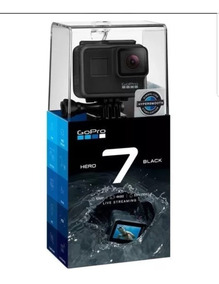 Gopro Hero 7 Black Câmera Filmadora Chdhx-701 Lacrada
