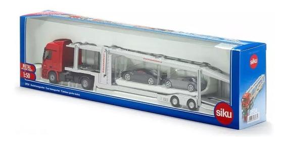 Camion Mosquito Transporte De Autos - Siku 3934 - 1:50