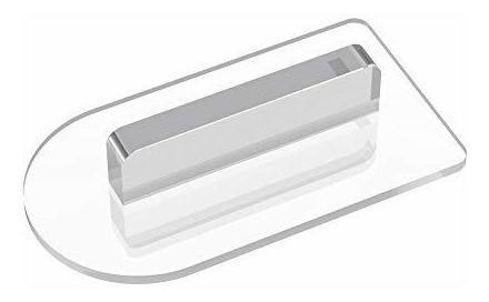 Acrílico Transparente Plástico Fondant Herramienta Más Suave
