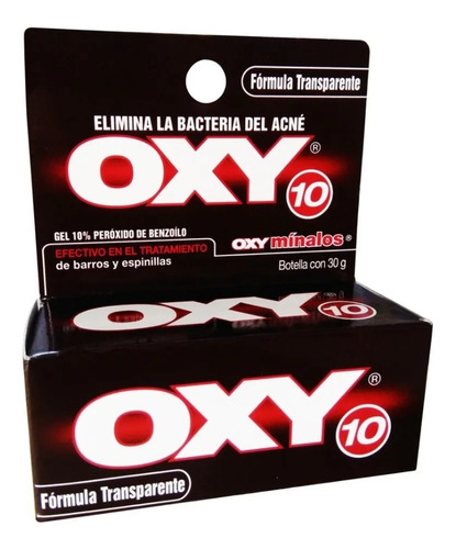Recibes Contra Acné Oxy 10% Transparent - g a $817