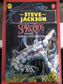 Sorcery Kharé Porto Dos Ardis - Steve Jackson - Livro Jogo