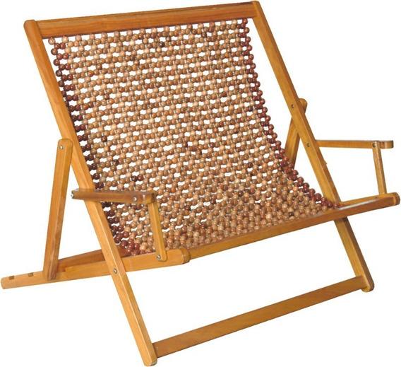 Cadeira Espreguiçadeira De Bolinhas Dobrável 2 Lugares