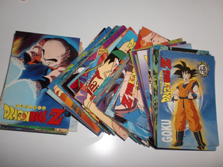 Cartas Coleccionables Dragon Ball Z - Navarrete (año 1998)