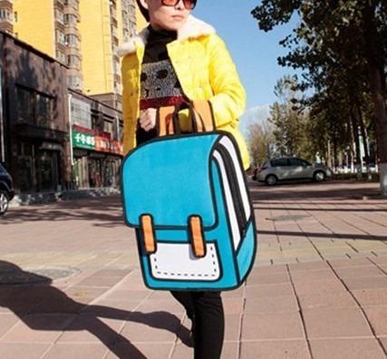 Mochila Bolso Diseño 2d 3d Cartoonbag Backpack Importada 6