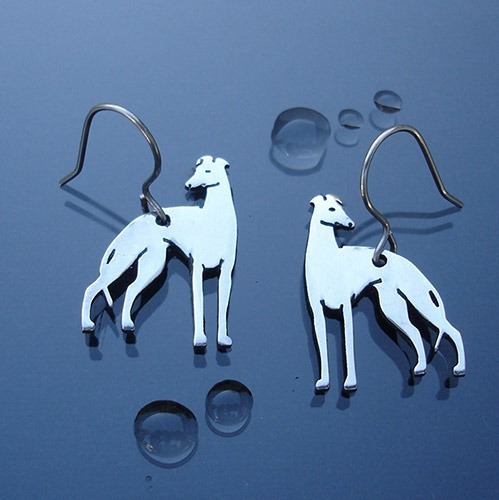 Brincos De Raças Caninas - Em Aço Inox E Corte A Laser