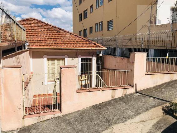 Casa Térrea, À Venda, Santana, Ótima Para Fazer Retrofit, Reformar Para Investimento, Por R$ 650.000, Zona Norte, Rua Eng. Mac Lean - Ca0116