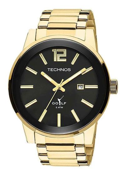 Relógio Technos Masculino Golf 2115tt/4p