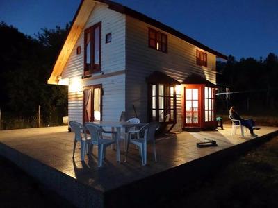 Casa En Caburgua (amoblada) Vende Su Dueña