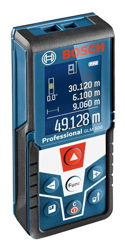 Medidor De Distância Trena A Laser 50m Bosch Glm 500