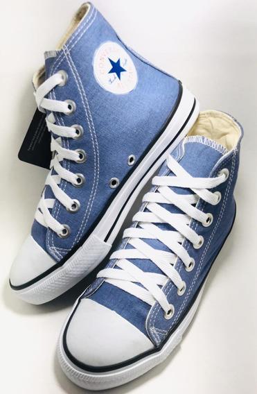 Tênis All Star Cano Alto Original Azul Jeans