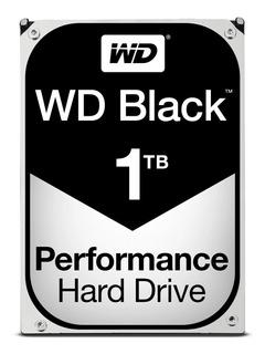 Disco Duro Western Black Series De 1tb, 64mb, Sata Iii (6.0 Gb/s)