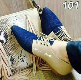 d79bdf74ee Sapato Oxford Azul Marinho - Sapatos no Mercado Livre Brasil