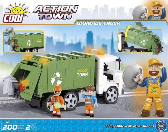 Camion De Basura- Bloques Para Armar-