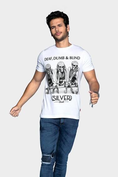 Playera Para Hombre Estampado Dumb&blind_1007