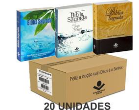 Bíblia Sagrada Para Evangelizar Caixa 20 Unidades Promoção