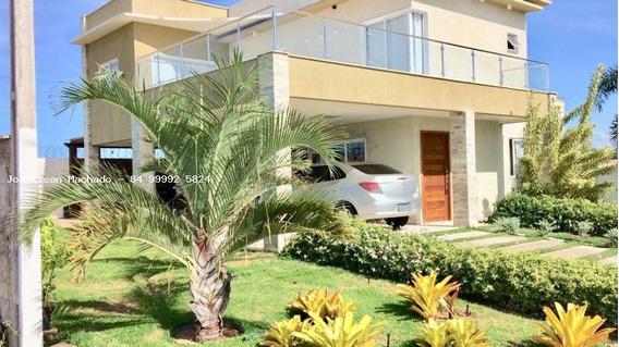 Casa Em Condomínio Para Venda Em Nísia Floresta, Vale Do Pium - Nisia Floresta, 4 Dormitórios, 2 Suítes, 4 Banheiros, 4 Vagas - Cas0731