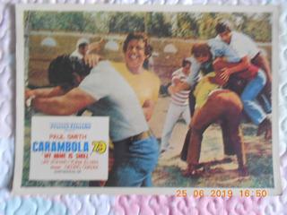 Poster De Cinema Do Filme Carambola 79 Com Paul Smith