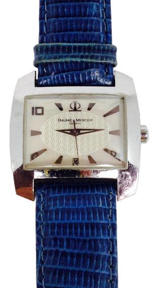Reloj Baume & Mercier Modelo Hampton Para Dama (ref 758)