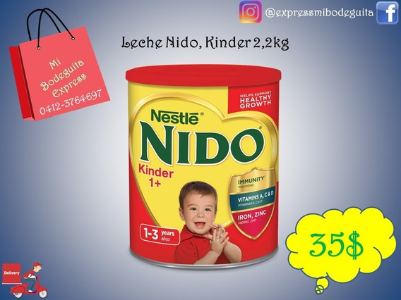 Leche Nido Kinder Y Fortificada2,2 Kg