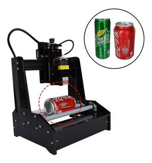 Maquina De Grabado Laser Cnc De 7.5w Para Termos Cilindros
