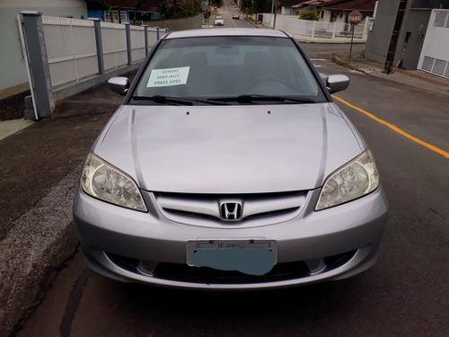 Imagem 1 de 14 de Honda Civic 2005 1.7 Lx Aut. 4p