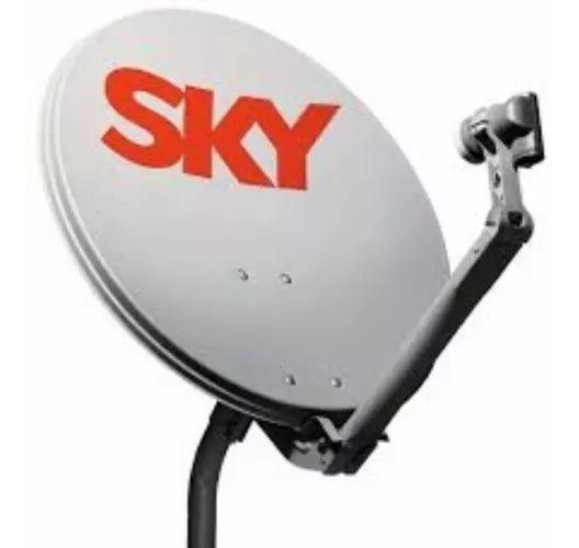 Antena Ku 60cm Sky Completa Com Lnb Original *promoção*