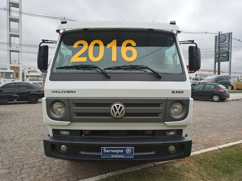 Volkswagen 8.160 Delivery Plus Ano 2016
