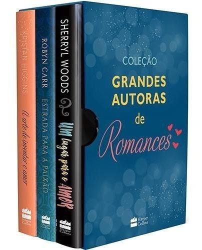 Box Grandes Autoras De Romances. 3 Livros: Kristam Higgins ,