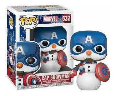Imagen 1 de 1 de Funko Pop Cap Snowman 532