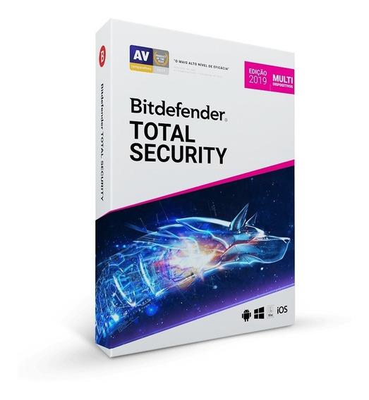 Bitdefender 2019 - 1 Ano + 2 Dispositivos - Melhor Preço!!!