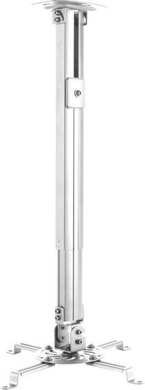 Suporte Projetor Regulagem De Altura Pro1100 Elg Branco