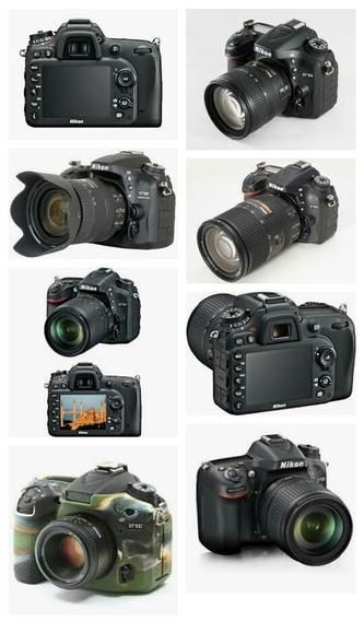 Camera Nikon D7100 Com Lente 18x105