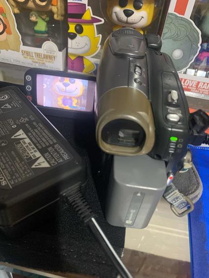 Filmadora Sony Mini-dvd Handycam Dcr-dvd403 - R$300,00