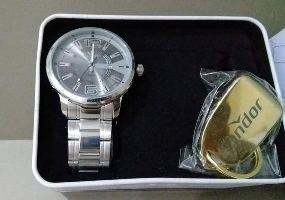 Relógio Masculino De Luxo Condor Prova Dágua Na Caixa