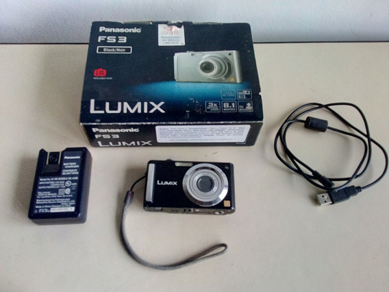 Camera Digital Panasonic Lumix Mod.dmc - Fs3