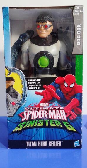 Boneco Titan Hero Series Doc Ock Hasbro - 12 X Sem Juros