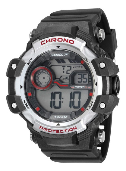 Relógio Speedo Digital Masculino Big Case 54mm 11015g0evnp1