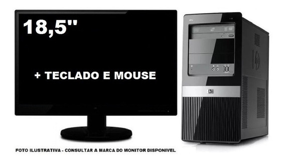 Computador Hp Dx2390 Core 2 Duo 4gb 320gb Tela 18,5 Pol