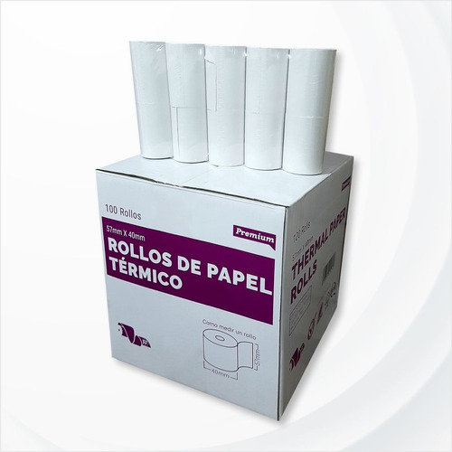 Rollos Térmicos 57x40 Punto De Venta - 57x40mm