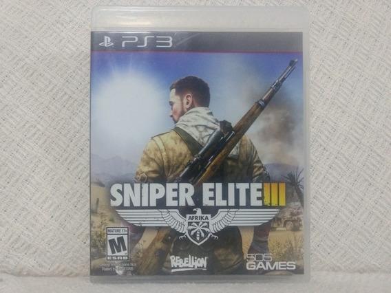 Jogo Ps3 Sniper Elite 3 Mídia Física