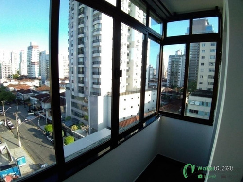 Localização Privilegiada No Bairro Do Gonzaga 3 Dormitórios 1 Suíte - Ap0392